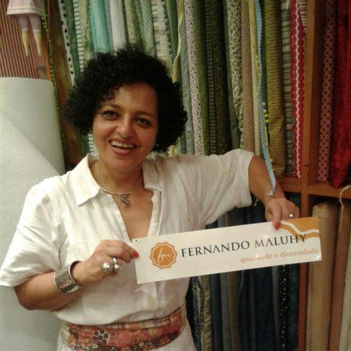 Mais um Adesivo Maluhy,  aceito.   Apresentando: Claudeli da Loja:Andrea  & Marcelo (Pedaço  de Pano) Ipanema. RJ.