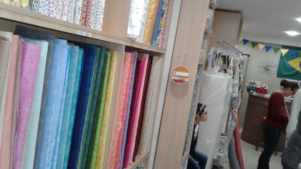 Identificação dos Tecidos com Wobblers na JP Têxtil
