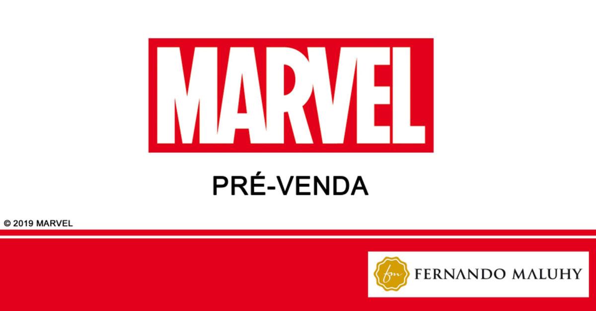 Catalogo Colecão Marvel Fernando Maluhy Capa